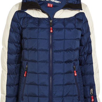 Perfect Moment - Inuq quilted shell down ski jacket