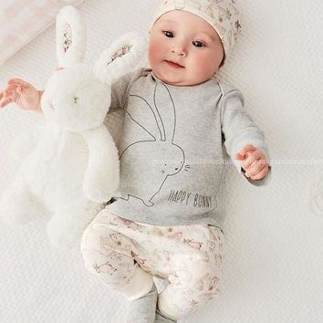Adorable Baby Bunny Clothing Set