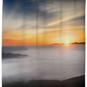 Sea of Clouds Shower Curtain