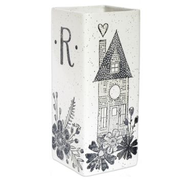 Personalized Home Family Vase