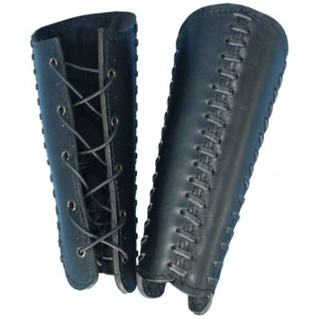 Squires Leather Bracers