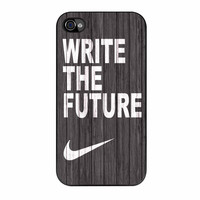 Nike Write Future Wood iPhone 4 Case