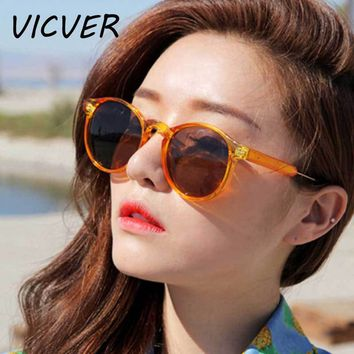 Round Sunglasses Women Brand Designer 2018 Vintage Men Coating Mirror Sun Glasses Classic Lady Circle Lens Glasses Retro Eyewear