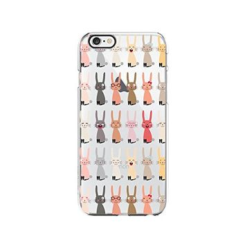 Funny Rabbit Merry Christmas Transparent Silicone Plastic Phone Case for iphone 7PLUS _ LOKIshop (iphone 7 plus)