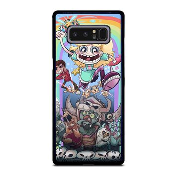 DISNEY STAR VS THE FORCE OF EVIL Samsung Galaxy Note 8 Case Cover