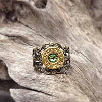 Bullet ring. Bullet jewelry