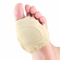 1 Pair Nursing Pad Open Toe Socks Women Men Foot Care Soft Pad Sweat Absorber Invisible