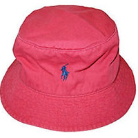 Polo Ralph Lauren Mens Floppy Bucket Hat (L/XL) (L/XL)