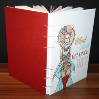 Personalised Beyonce Notebook - What Would Beyonce Do?