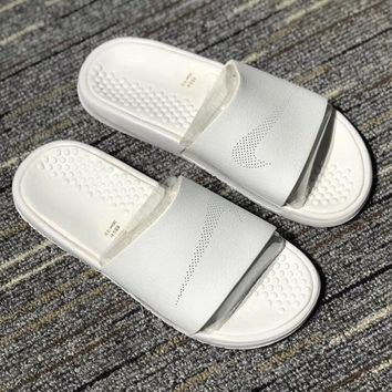 NIKE BENASSI SLIDE LUX Woman Men Fashion Slipper Sandals Shoes