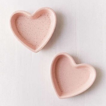 Heart Ceramic Catch-All Dish | Urban Outfitters
