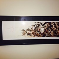 """The Black Parade"" by James Jean framed print 