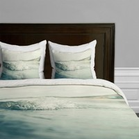 DENY Designs Bree Madden Ocean Wave Duvet Cover, Queen
