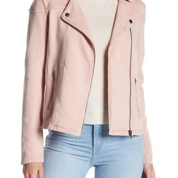 Melrose and Market | Knit Moto Jacket (Petite) | Nordstrom Rack