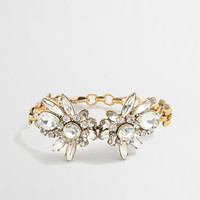 FACTORY CRYSTAL FLOWER BURST BRACELET