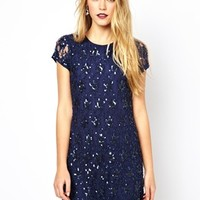 ASOS Embellished Shift Dress