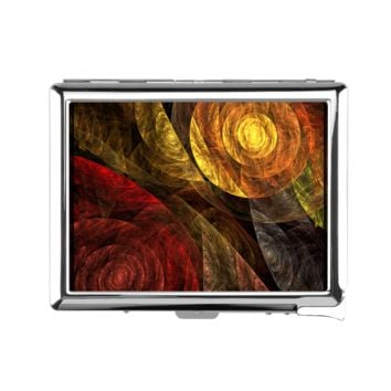 The Spiral of Life Cigarette Case With Lighter - Cigarette Case With Lighter