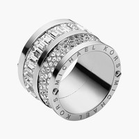 Michael Kors 'Brilliance' Cigar Band Ring