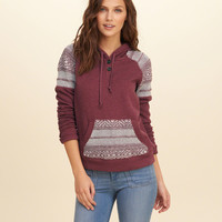 Patterned Sweater Pullover