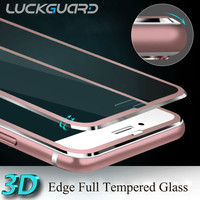 Premium Aluminum Tempered Glass Protection Screen For Apple iphone6 iphone 6 S Phone Accessories Full Coverage Screen Protector