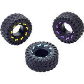 Ethical Dog - Squeaky Vinyl Tire Dog Toy