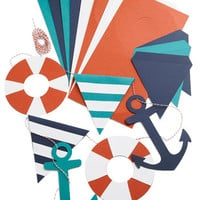 ModCloth Nautical Lifeguard of the Party Garland Kit