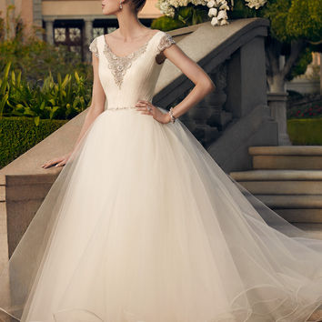 Casablanca Bridal 2167 Tulle Wedding Dress