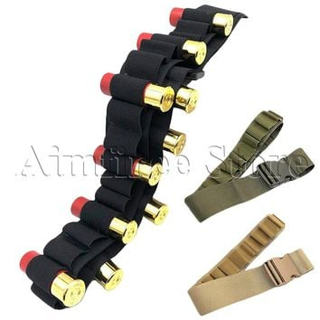 Tactical 27 Rounds Shotgun Shell Bandolier Belt 12 Gauge Ammo Bullet Cartridge Waist Holder Belt 135cm