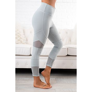 Stand Strong Activewear Leggings (Mint)