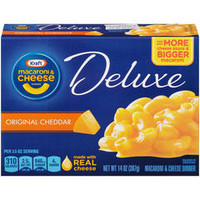 Deluxe Macaroni and Cheese Dinner, Original, 14 oz (397 g) - Kmart