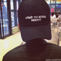 I CAME TO BREAK HEARTS Baseball Cap