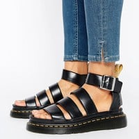 Dr Martens Clarissa Vegan Strappy Flat Sandals at asos.com