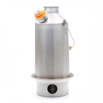 Kelly Kettle Stainless Steel Camping Water Kettle Scout Medium