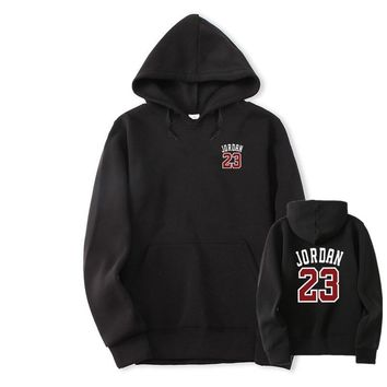 2018 Autumn New Mens Women black red Hoodies JORDAN 23 Fashion Printing Hip Hop Hoodie Sweatshirt Men/Women Hoody