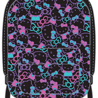 Hello Kitty Black Backpack