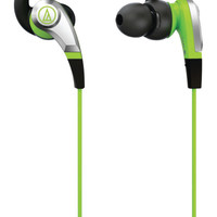 Audio Technica Sonic Fuel Headphones (Green)
