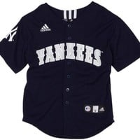MLB New York Yankees Screen Print Baseball Jersey Boys'