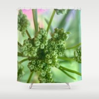 Seedlings Shower Curtain by UMe Images
