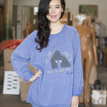 Bear Hugs Sweatshirt in Light Blue [Benefit for Animals Asia]