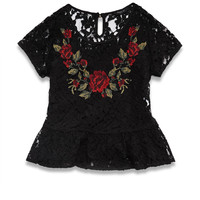 Sweet Rose Lace Top (Kids)