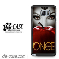 Malficient Once Upon Time Apple Snow White For Samsung Galaxy Note 5 Case Phone Case Gift Present