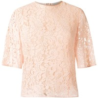 Martha Medeiros Lace Blouse - Farfetch