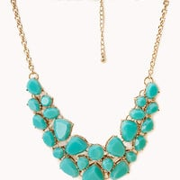 Sweet Side Bib Necklace