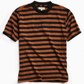 GUESS '81 Multi Stripe Tee | Urban Outfitters
