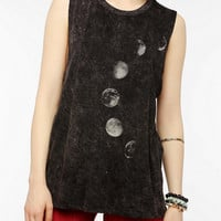 Project Social T Moon Phases Muscle Tee
