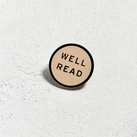 Word For Word Well Read Pin - Urban Outfitters