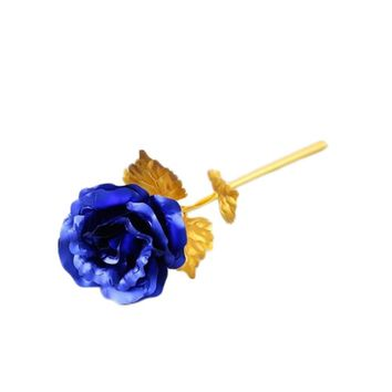 Plated  Wedding  Decoration  Golden  Dipped  flore
