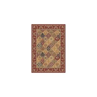 KAS Rugs Cambridge Red / Beige Floral Areal Rug