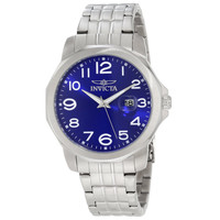 Invicta 6607 Men's Specialty Sport Blue Dial Stainless Steel Bracelet Watch