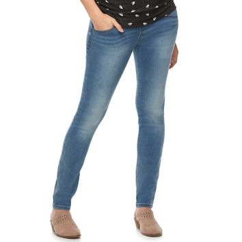 Maternity a:glow Full Belly Panel Skinny Jeans